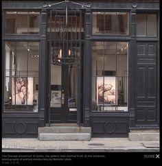 Storefront Lighting, High Visibility
