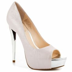 Sexy Two-Tone Metallic Claudius - Light Pink LE by Boutique 9 - $150