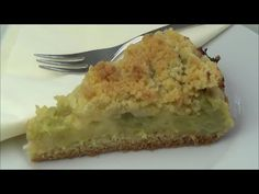 Thermomix TM 5 - Leckerer Rhabarberkuchen mit Streusel / Thermiliscious - YouTube