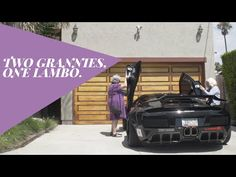 2 Grannies Get Into A $200,000 Lamborghini. Now Watch When They Back The Car Out...