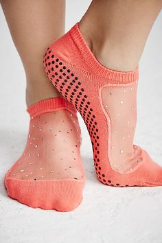 Cute grip yoga socks