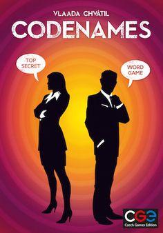 Codenames Board Game by the great game designer Vlaada Chvatil #boardgames #boardgamegeek