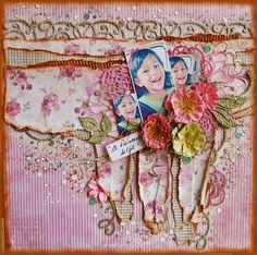 2 Crafty Chipboard : September Inspirations and a VIDEO TUTORIAL by Marilyn Rivera