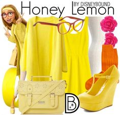 Get the look! CLICK HERE to enter The Big Hero 6 Big DisneyBound contest!