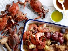 Spiced Crabs and Shrimp with Potatoes Recipe : Food Network Kitchen : Food Network - FoodNetwork.com
