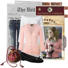 Hermione, created by biablumtritt on Polyvore