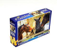 500 pc Puzzle Carousel Horse Brand New /& Sealed Puzzlebug