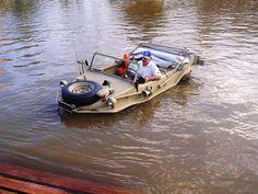 Swimming With Cars: 9 Amphibious Vehicles - Popular Mechanics