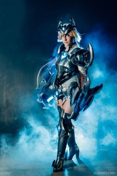 Championship Shyvana Cosplay from League of Legends