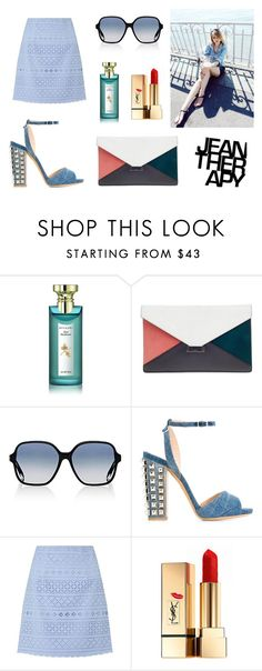 """[Jean-Therapy] BRYAN YANG'S PERFECT MATCHING 215"" by bryan-yang ❤ liked on Polyvore featuring Bulgari, CÉLINE, Victoria Beckham, Philipp Plein, Therapy, Lipsy and Yves Saint Laurent"