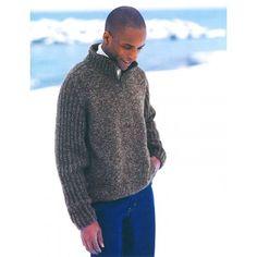 Free Intermediate Men's Sweater Knit Pattern