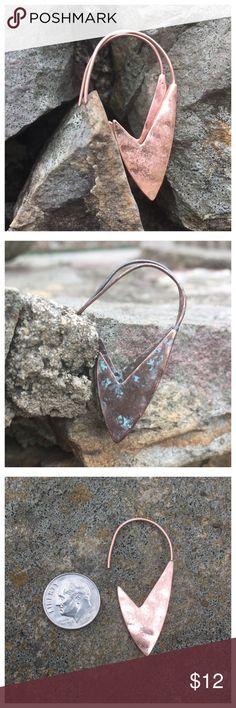 💍HP💍 Organic Copper Color Earrings Organic Copper Color Earrings --- Lightweight Boutique Jewelry Earrings