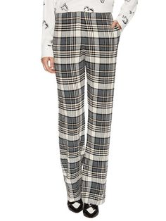Textured Plaid Trouser by See by Chloe at Gilt