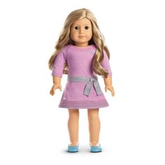 Amazon.com: American Girl - Truly MeTM Doll: Light Skin, Freckles, Blond Hair, Brown Eyes DN24: Toys & Games