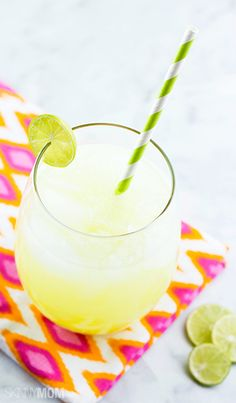It's happy hour at your house tonight with this delicious low-cal margarita recipe.