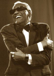 ray charles amazing tenacious man, that I don't think feels sorry for himself one bit.