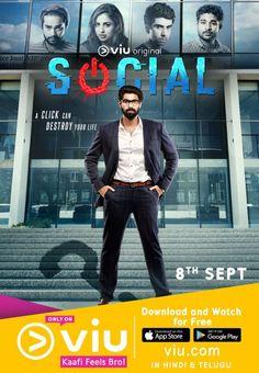 Web Series Social First Look Poster: Rana Daggubati's Corporate Look