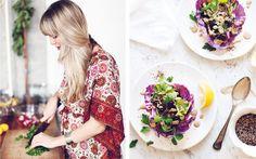Sarah Brittons liefert mit ihrem neuen Kochbuch «My new roots» gesunde Picknick-Rezepte