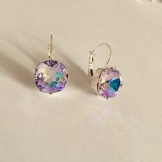 A personal favorite from my Etsy shop https://www.etsy.com/listing/227876259/iridescent-periwinkle-pink-violet-ab
