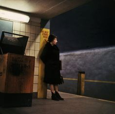 USA. New York City. 1966. Union Square station. Danny Lyon