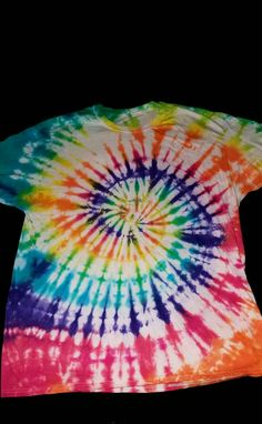 d67adcfa6948 Items similar to Spiral Tie Dye T-Shirt on Etsy