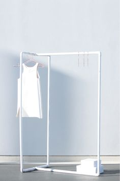 what??? #diy clothes rack