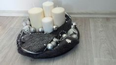 Candle table heart deco