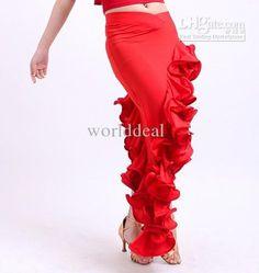 Wholesale Latin - Buy Latin Salsa Chacha Ballroom Dance Dress Ruffle Skirt Dress Black TL011, $31.45 | DHgate