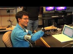 3D glove lets you speak or sing by using gestures to control a voice synthesizer.