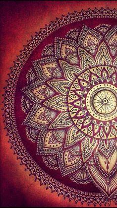Mandala Art, Mandala Drawing, Mandala Painting, Mandala Wallpaper, Textured Wallpaper, Beautiful Flowers Wallpapers, Cute Wallpapers, Screen Wallpaper, Wallpaper Backgrounds