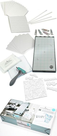 We R Memory Keepers-Lifestyle Letterpress Kit.