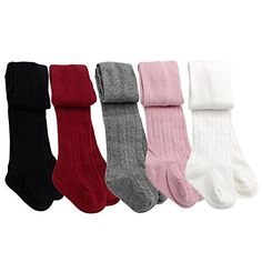 Taiycyxgan Baby Toddler Girls Cable Knit Tights 5 Pack Le... https://www.amazon.com/dp/B01HV5PE02/ref=cm_sw_r_pi_dp_x_w3J6yb63Q9TWZ