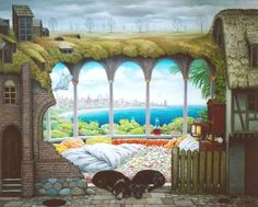 * Jacek Yerka - - - Think of the Weekend