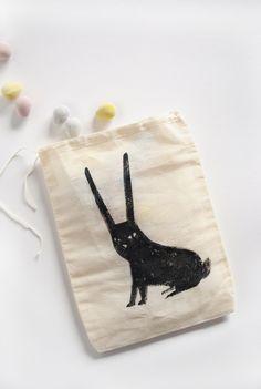 Bitty Bunny Easter Treat Bag DIY by MerMag