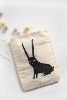 Bitty Bunny Easter Treat Bag DIY by MerMag