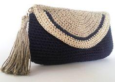 Evening clutch - Crochet Pouch -Handmade Gift - Crochet Phone Pouch – Accessories – Handmade Gift