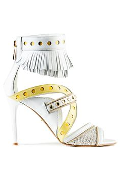 Roberto Cavalli - Just Cavalli Accessories - Fringe Sandal 2015 Spring-Summer Shoes