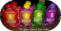 Mamma Chia on the go squeeze treats for moms like me! would be nice to buy these from you from Newly Crunchy Mama Of 3