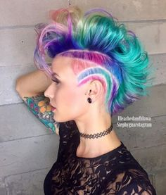 Unique hair for sure! love this one