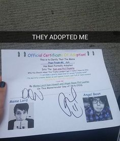 This is awesome- and my name is Ashlyn so I'm going to say I'm adopted you them as well