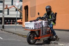 EsCargo: all-electric city and suburban delivery machine