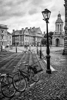 """""""Trinity College Dublin"""" by Paul Lanigan - Ireland Trip Oct 2014 The Places Youll Go, Places To See, Trinity College Dublin, Dublin City, Ireland Travel, Adventure Is Out There, Black And White Photography, Places To Travel, Beautiful Places"""