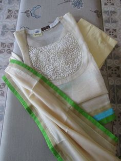 To customize whatsapp 9043230015 for Saree, blouse and Kurtis - Salvabrani Kurtha Designs, Chudidhar Neck Designs, Neck Designs For Suits, Neckline Designs, Dress Neck Designs, Designs For Dresses, Salwar Suit Neck Designs, Kurta Neck Design, Salwar Designs