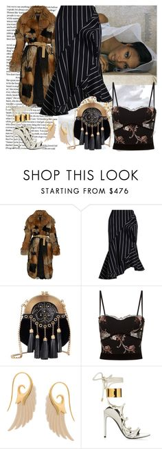 """""""Pearl"""" by raincheck ❤ liked on Polyvore featuring Zimmermann, Miu Miu, La Perla and Noor Fares"""