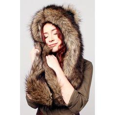 Panda Soft Plush Animal Faux Fur Hat Novelty Winter Ski Aviator Costume Hoodie