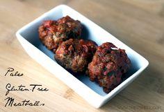 gluten-free meatball recipe