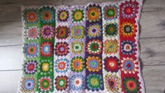 Flower Power!!! A spring blanket for a beautiful baby girl:)