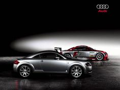 Audi TT Coupe - Two-door sports car introduced in 2006, Audi TT's name is named after the Tourist Trophy motor-sports event held on the Isle of Man, in which a predecessor of the Audi brand competed.