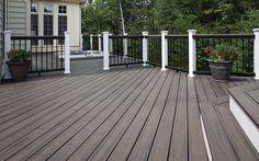 Trex Transcend® Composite Decking and Railing -Trex Island Mist
