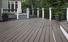 Trex Transcend® Composite Decking and Railing -Trex Island Mist